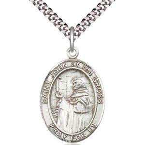Sterling Silver St John of the Cross Pendant